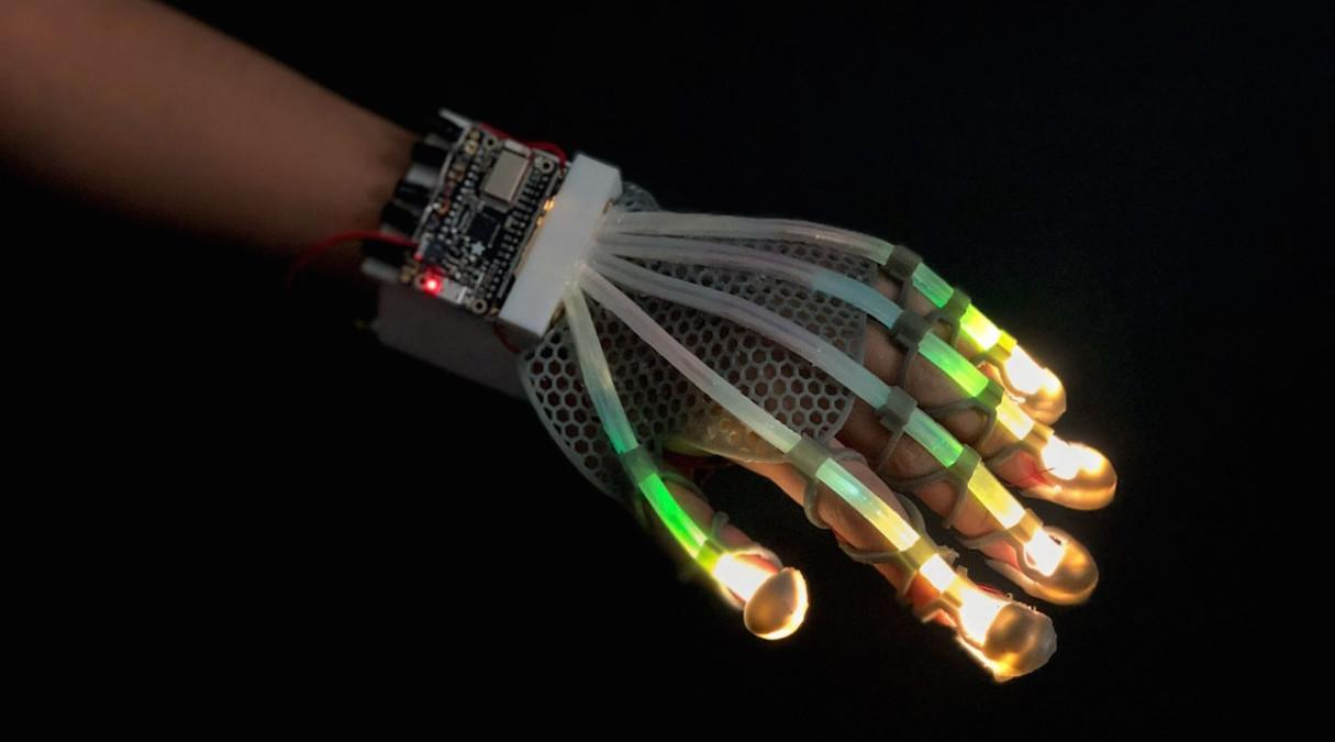 glove with sensors
