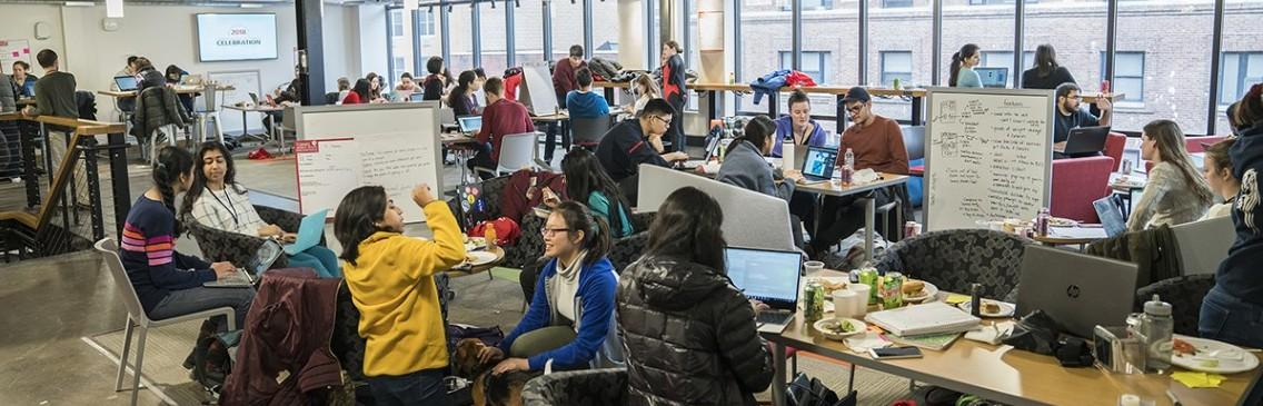 Students teams get busy at the 2018 Animal Health Hackathon