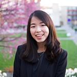 Engineering student Nicole '19 who is from Hong Kong