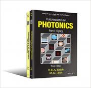 Fundamentals of Photonics, 3rd ed. (2019). Vol. 1: Optics and Vol. 2: Photonics