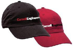 Cornell Enginering Baseball caps
