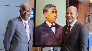 Lance Collins presented Edward Bouchet Legacy Award