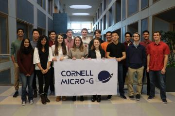 members of the Cornell Micro-g team