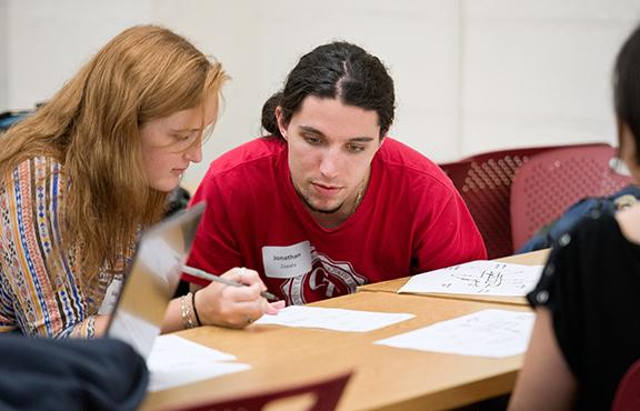 Student being tutored
