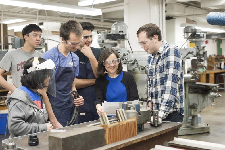 AEP professor Lois Pollack and members of her research group