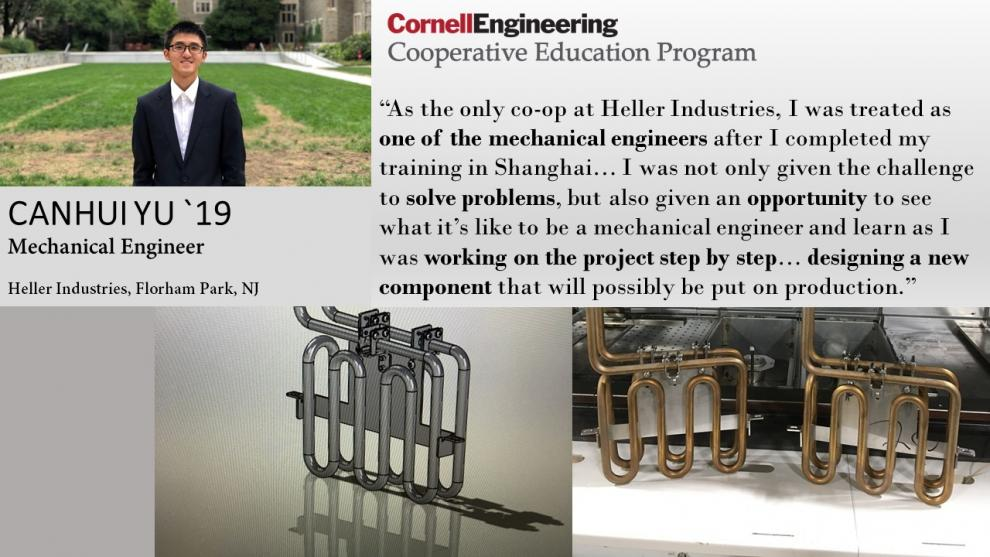 Canhui Yu, Mechanical Engineer, Heller Industries